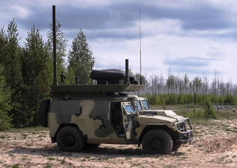 Российские специалисты РЭБ подавили средства связи «противника» на учении в Таджикистане