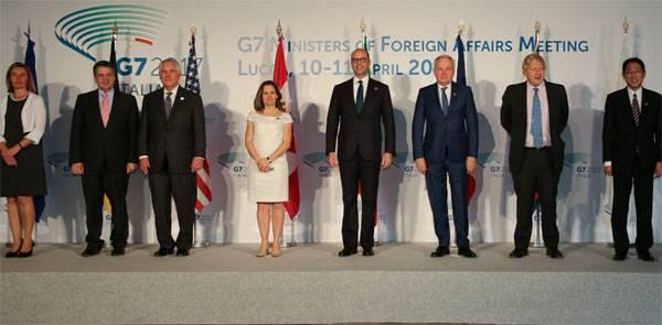 На саммите G7 решение о введении новых антироссийских санкций не принято