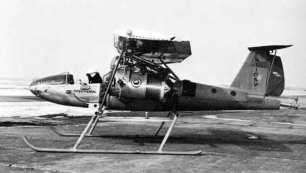 Экспериментальный конвертоплан Bell 56 ATV (США)