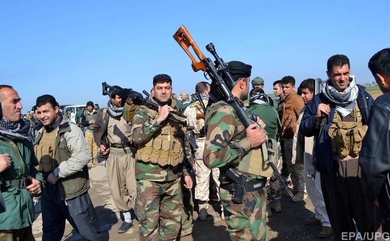 Курды напали на турецких силовиков