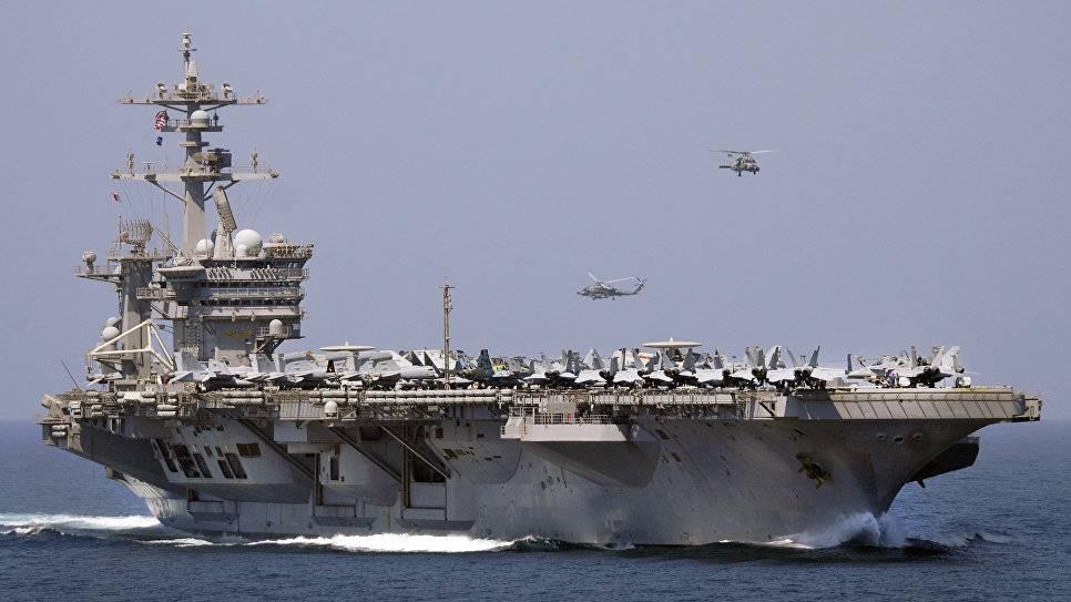 Япония планирует провести общие учения сударной группой американских кораблей