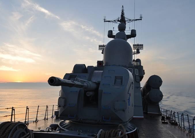 В Крыму проходит учение двух корабельных бригад