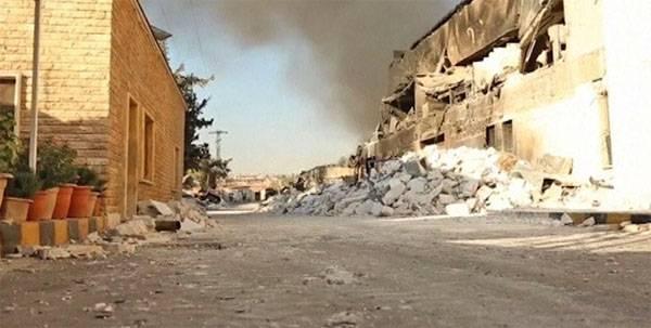 Удар ВВС коалиции США близ Дейр-эз-Зора привёл к массовому отравлению людей