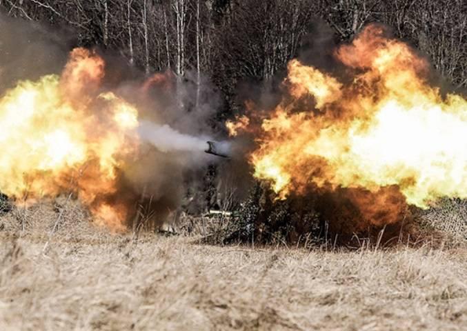 В ЮВО проведены стрельбы из минометов «Тюльпан» и пушек «Пион»