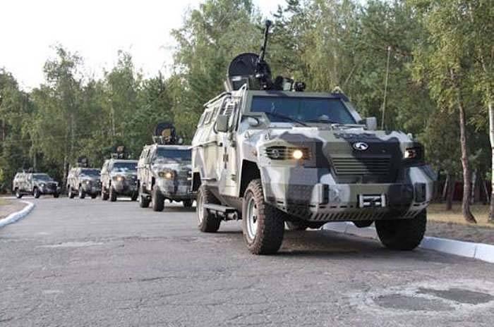 ВСУ получили партию броневиков КрАЗ-Кугуар