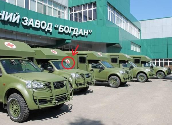 Камуфляж от ВСУ: боеприпасы на передовую на скорой помощи