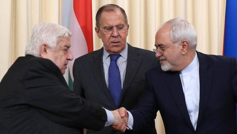 Лавров: Москва, Дамаск иТегеран считают удар США поСирии актом агрессии