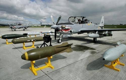 США поставят Нигерии 12 самолетов A-29 «Супер Тукано»