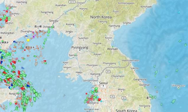 О ситуации в воздушном пространстве и территориальных водах КНДР