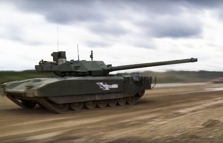 """Залпы по """"Армате"""": за что западные СМИ """"любят"""" новейший российский танк"""