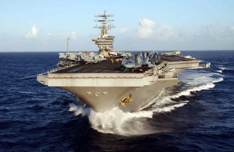 США направили к берегам Корейского полуострова ещё два авианосца