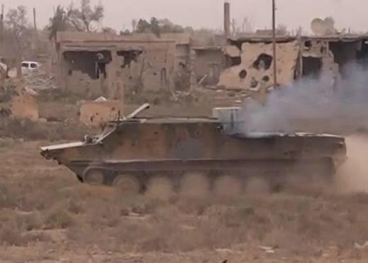 БТР-50 террористов стали джихад-мобилями