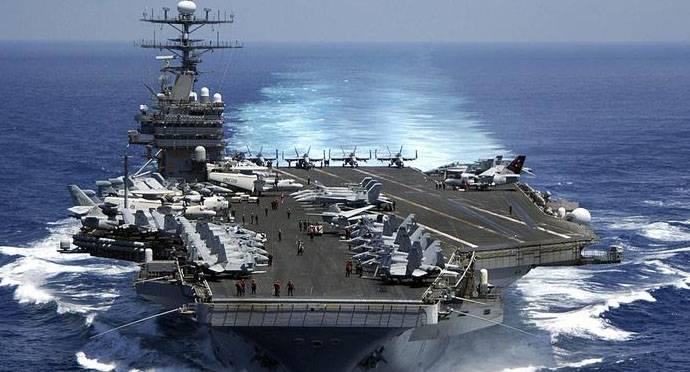 """Ведут ли российские и китайские корабли наблюдение за американским """"Карлом Винсоном"""" у берегов Кореи?"""