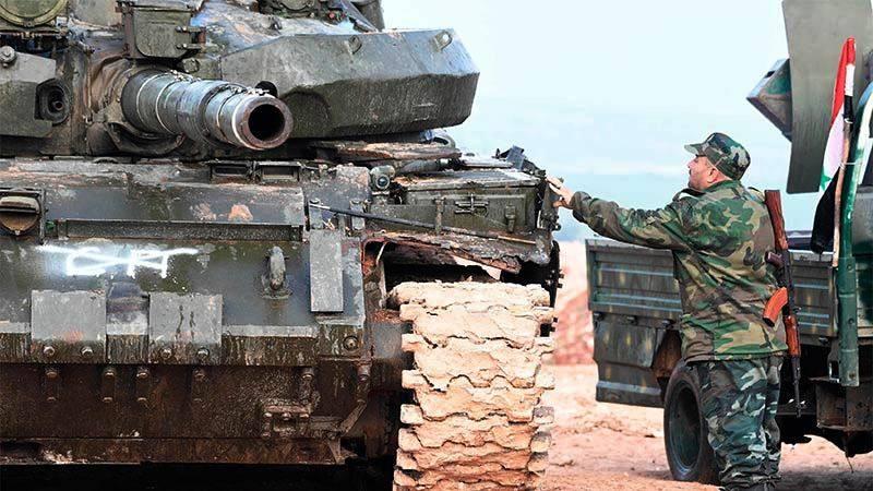 Сирийская армия начала новое наступление под Алеппо