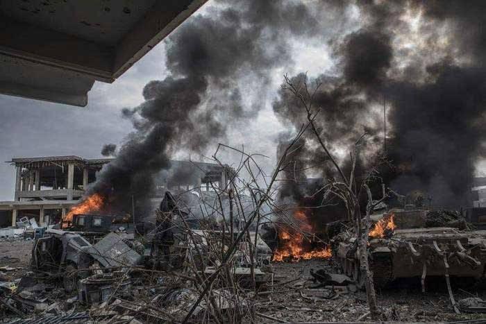 В Мосуле уничтожен завод террористов по производству беспилотников