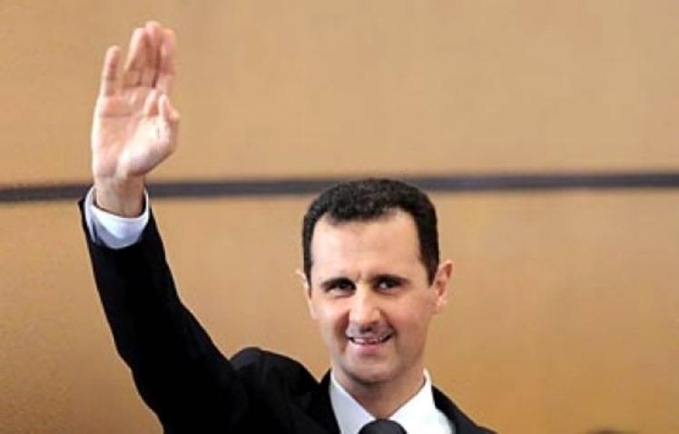 Президент РФ поздравил Башара Асада с национальным праздником