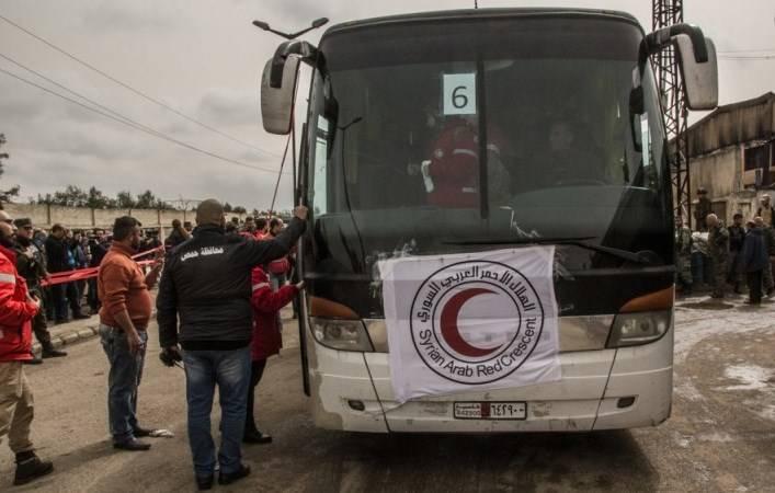 Из Хомса выведены более 2 тысяч боевиков с семьями