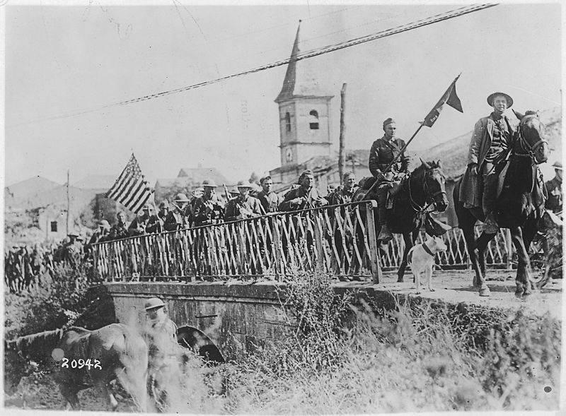 Der Erste Weltkrieg machte die Vereinigten Staaten zu einer führenden Weltmacht