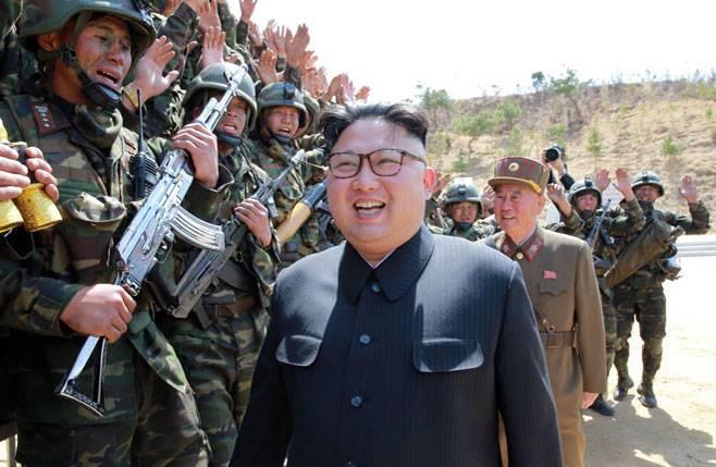 Северная Корея обнародовала телеверсию ядерного удара поСША
