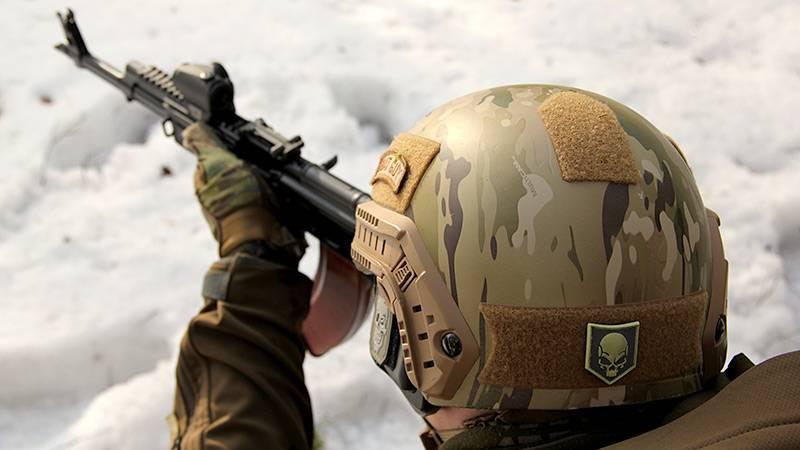Спецназ ФСБ получил лёгкие и прочные шлемы