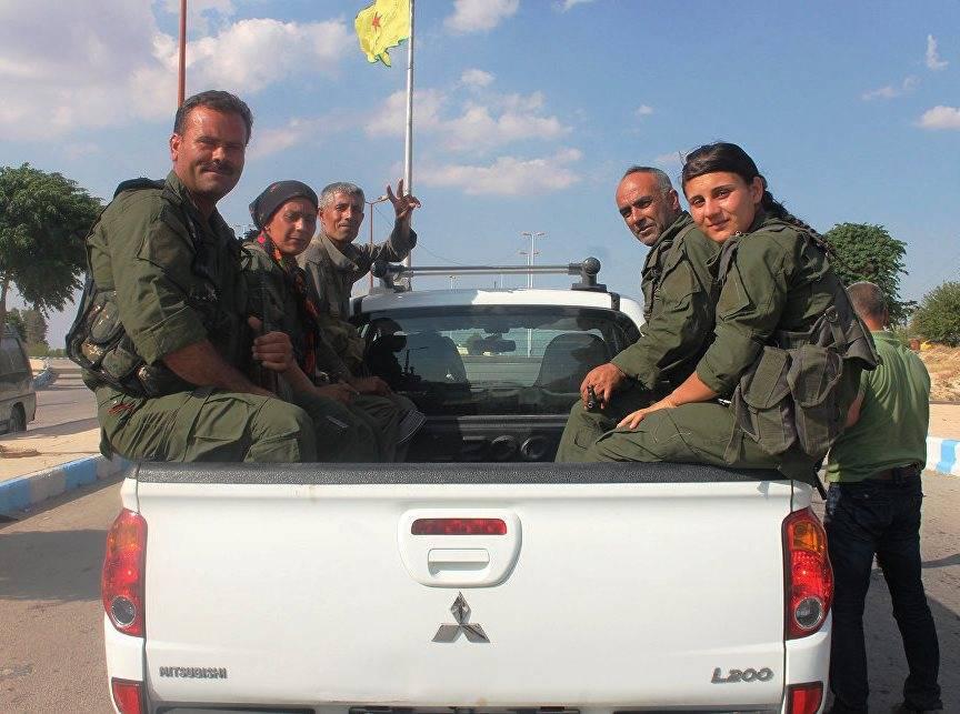 Курды устранили 35 боевиковИГ насевере Сирии— Гнев Евфрата