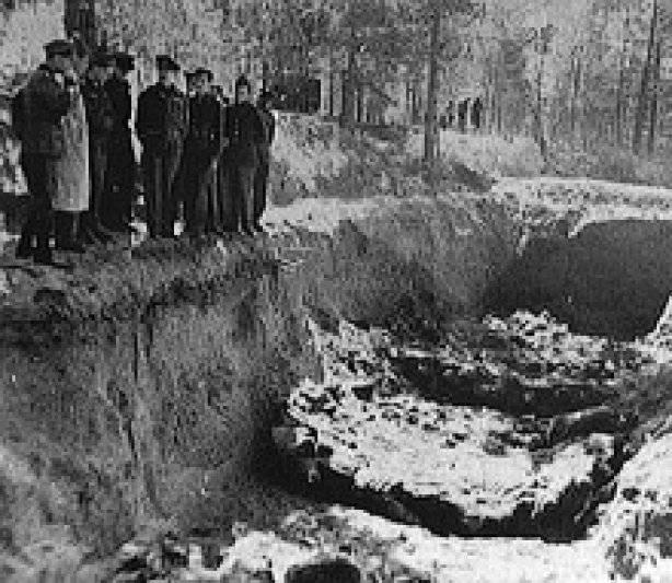 Le riprese di Katyn sono state commesse dai nazisti