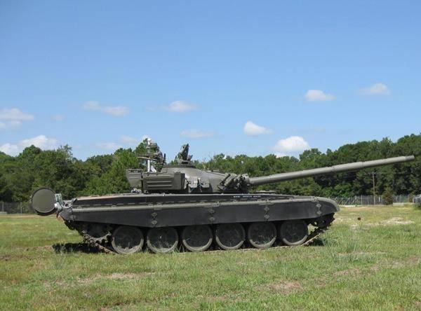 ВСША роботизировали танк Т-72