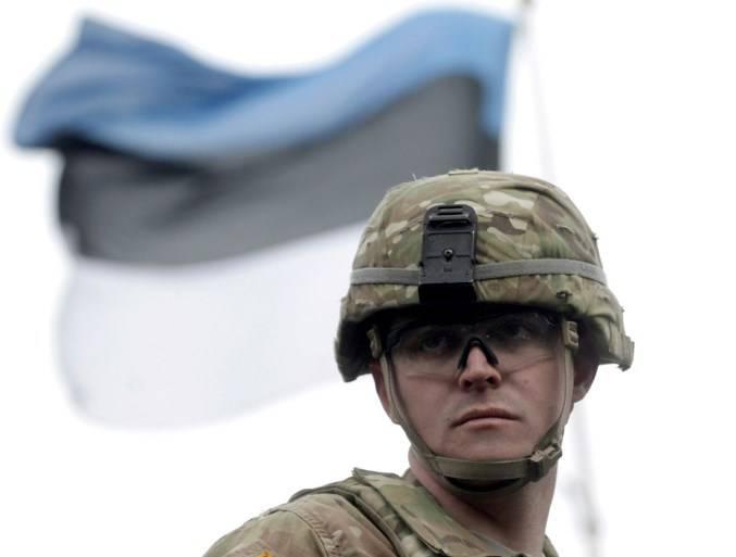 Натовский батальон в Эстонии приступает к несению службы