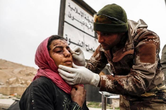 Смертники ИГИЛ атаковали командный центр милиции под Мосулом— Ирак