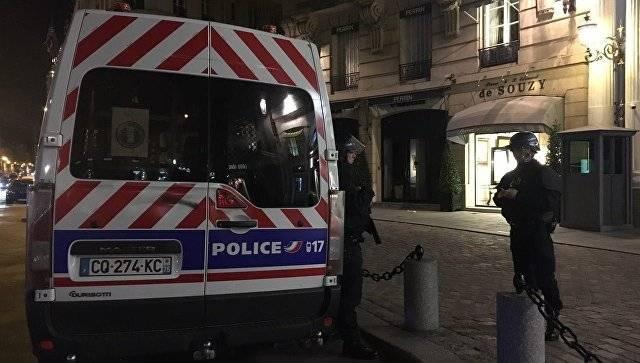 В Париже совершено нападение на полицейских