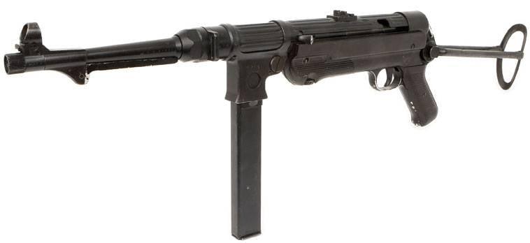 Пистолет-пулемет ERMA EMP 36 – за полшага до MP 38/40
