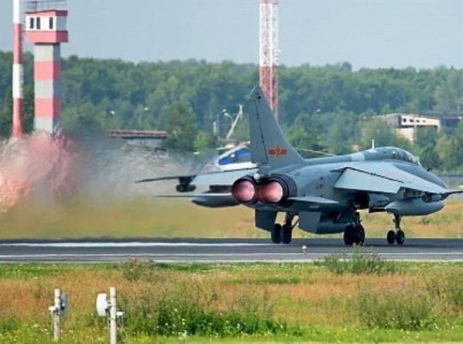 Пентагон зафиксировал повышенную активность китайских ВВС