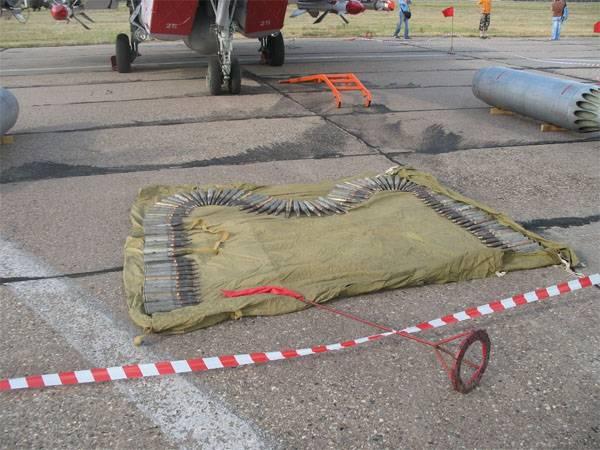 Возгорание на складе боеприпасов близ Курского аэродрома