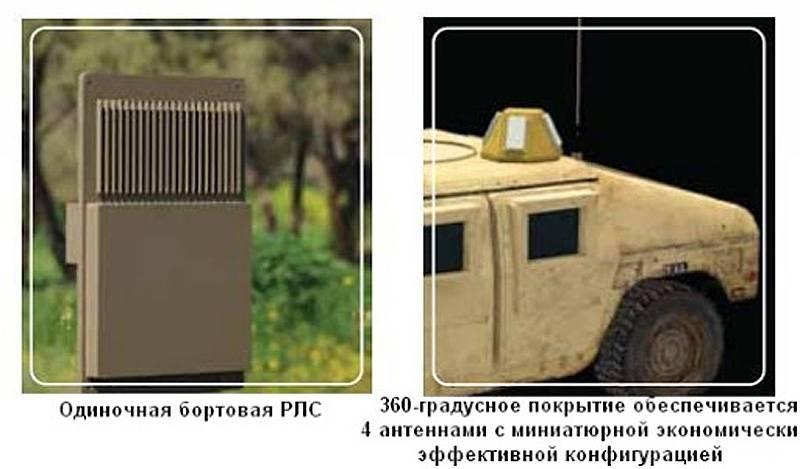 Активная защита бронированных машин