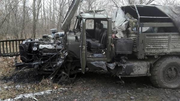 Возобновление боёв в Донбассе