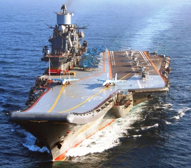 Согласована цена модернизации «Адмирала Кузнецова»