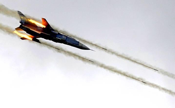 Тренировочный лагерь боевиков взлетел на воздух от удара ВКС РФ