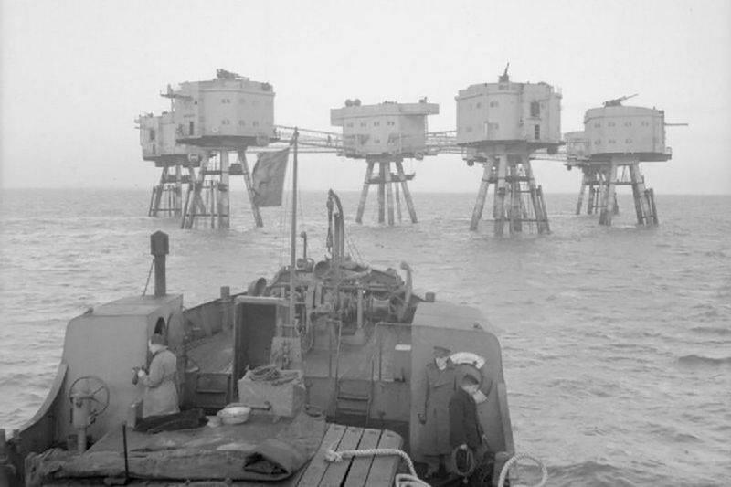 Форты противовоздушной обороны Манселла