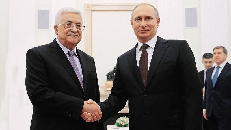 Глава Палестины посетит Россию с трёхдневным визитом