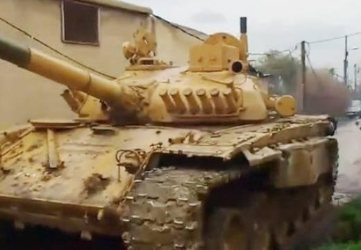 В Сирии модернизируют Т-72 «натовской модификации»