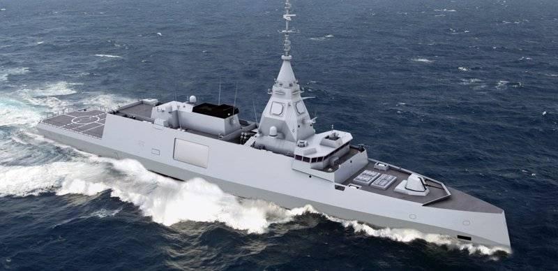 ВМС Франции вооружатся новыми фрегатами проекта Belharra