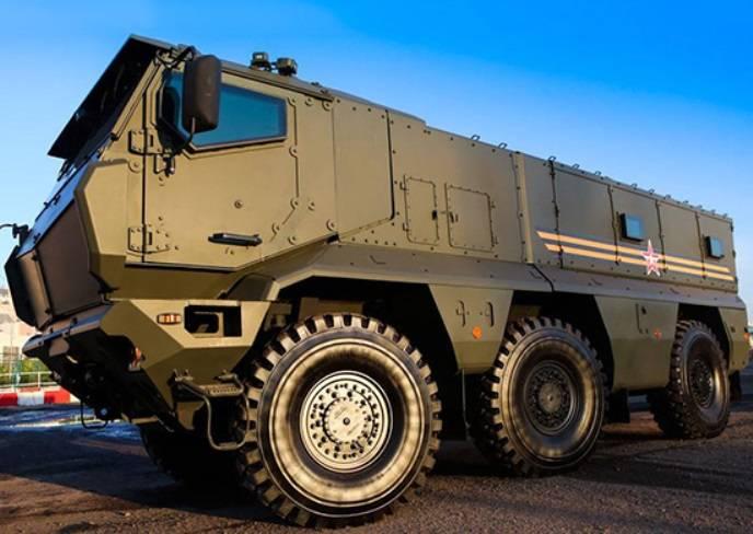 Разведчики ЗВО получили бронеавтомобили «Тайфун»