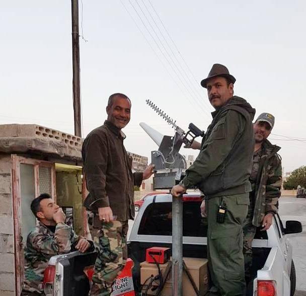 В Сирии начали использовать «противодроновые пушки»