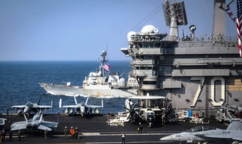 ВМС Южной Кореи проведут учение с американским авианосцем в конце недели