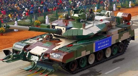 India puede quedarse sin sus propios tanques.