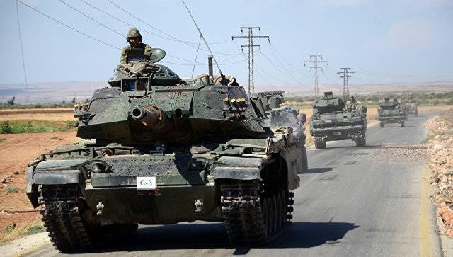 Турция атаковала курдское ополчение в провинции Африн на севере Сирии