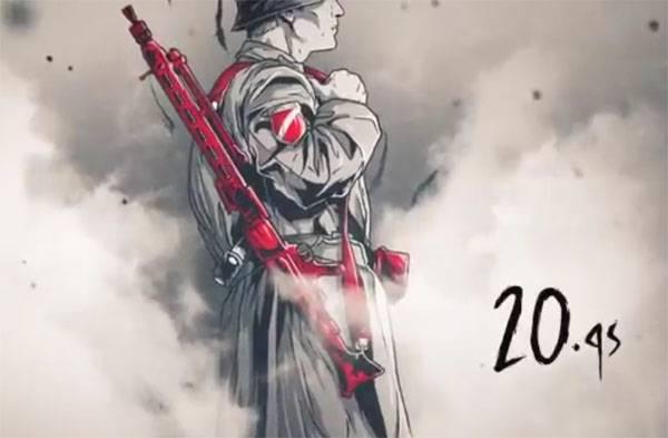 Образ легионера Ваффен-СС МО Латвии использует с целью популяризации военной службы
