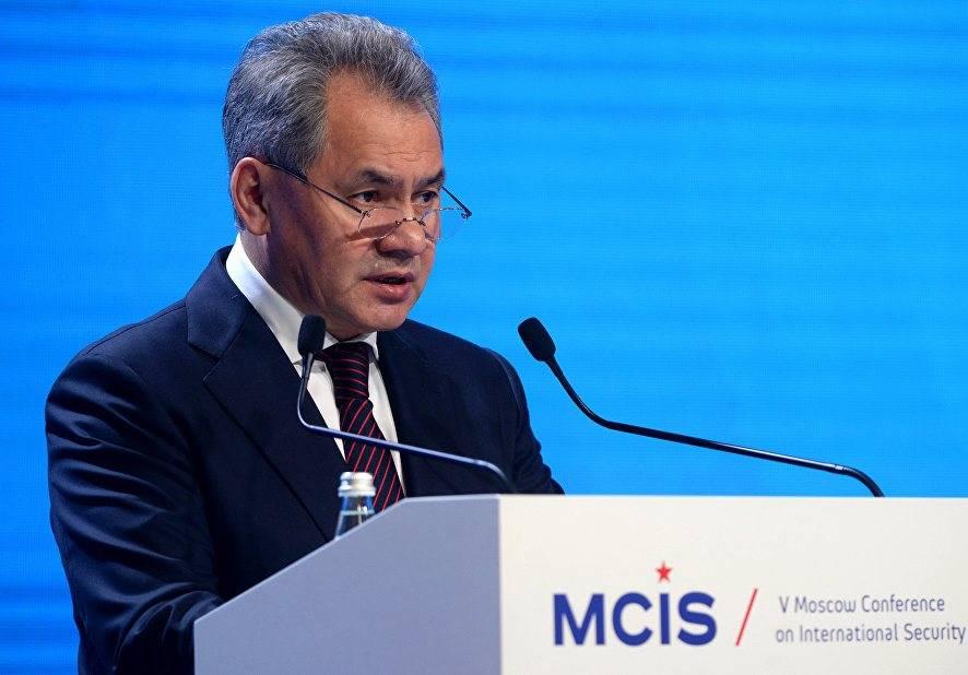 Шойгу: патрулирование НАТО ввоздушном пространстве Прибалтики грозит  безопасности
