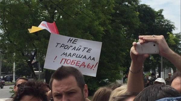 """Битва названий. В Одессе проспект """"Небесной Сотни"""" переименовали обратно в проспект Маршала Жукова"""