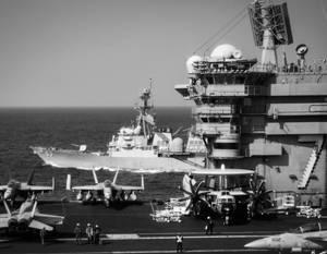 Трамп готовит американский флот для противостояния с Китаем